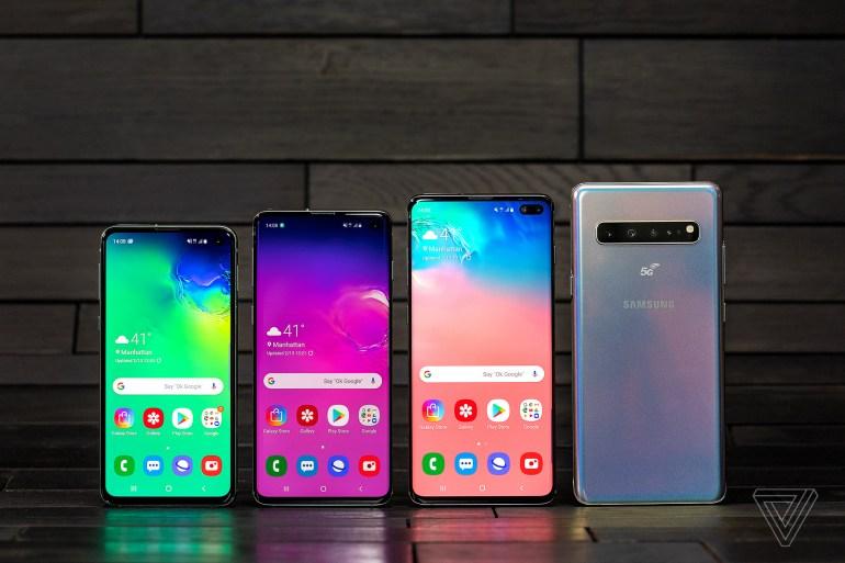 Смартфон Samsung Galaxy S10 5G получил экран диагональю 6,7 дюйма и шесть камер