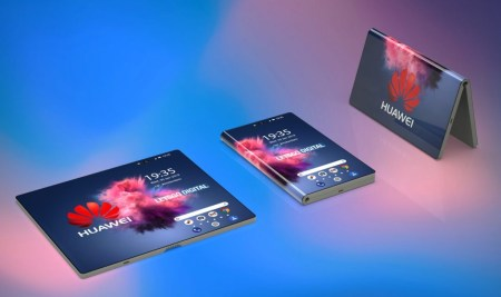 Huawei дразнит анонсом складного смартфона на MWC 2019, уже есть качественные рендеры (правда, неофициальные)