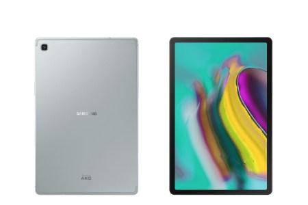 Samsung представила самый тонкий и самый легкий 10,5-дюймовый планшет Galaxy Tab S5e за €420, а также обновленную доступную модель Galaxy Tab A 10.1 (2019) за €210