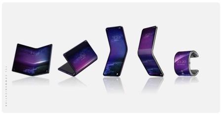 Владелец брендов BlackBerry и Alcatel готовит целых пять складных смартфонов с гибкими экранами, включая модель в виде браслета