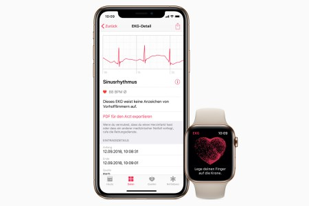 Функция кардиограммы в часах Apple Watch 4 заработала в Европе после выхода новой прошивки watchOS 5.2