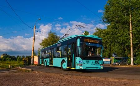 «Черниговский автозавод» разработал городской электробус с динамической подзарядкой и запасом хода 20 км