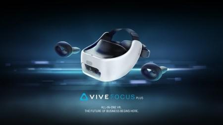Автономный шлем виртуальной реальности HTC Vive Focus Plus оценили в $799, продажи начнутся 15 апреля