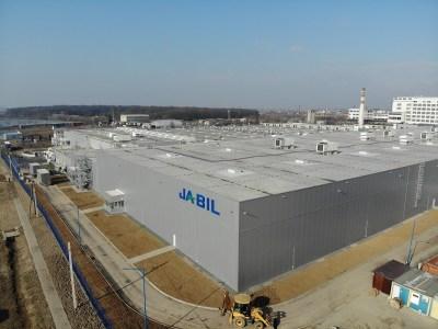 Контрактный производитель Jabil вдвое увеличил производственные мощности завода в Ужгороде