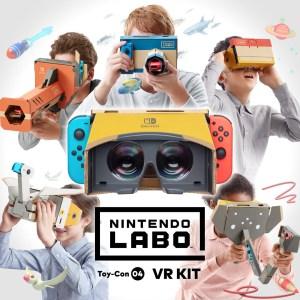 Nintendo представил новый набор Toy-Con 04: VR Kit для конструктора Labo, который позволяет приобщить детей к виртуальной реальности