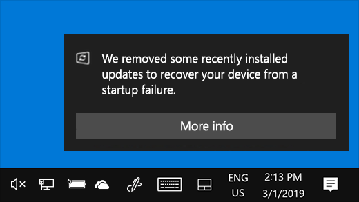 Windows 10 начнёт автоматически удалять проблемные обновления, приводящие к сбоям в работе компьютера
