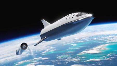 Илон Маск показал испытания теплозащитного экрана для межпланетного корабля SpaceX Starship [Видео]