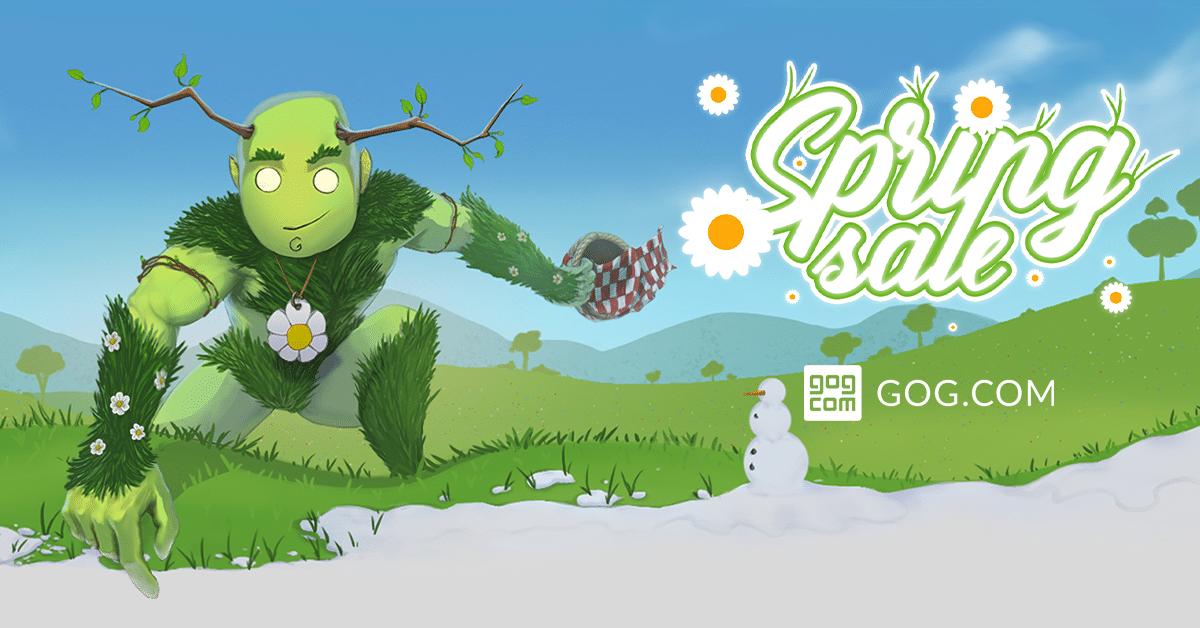 "Сервис GOG.com объявил ""Весеннюю Распродажу"" со скидками до 90% на 600 игр - ITC.ua"