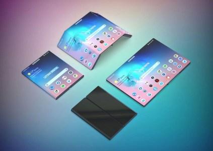 Новый патент Samsung описывает дважды складывающийся смартфон, похожий на недавно показанную версию Xiaomi