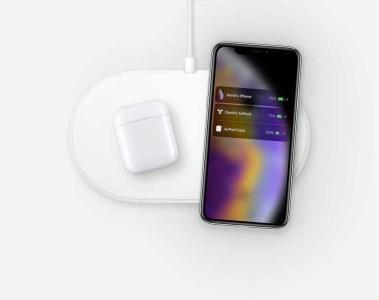 На австралийском сайте Apple замечено свежее изображение многострадальной беспроводной зарядки AirPower