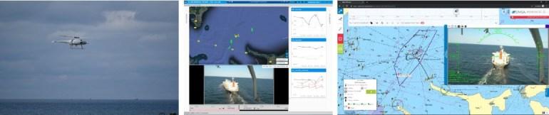 Дания начала следить за содержанием выхлопных газов судов с помощью дрона