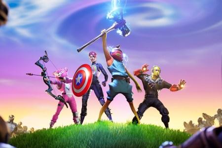 В Fortnite стартовал специальный режим «Мстители: Финал», в котором игроки смогут побороться с Таносом и его читаури с помощью оружия Мстителей