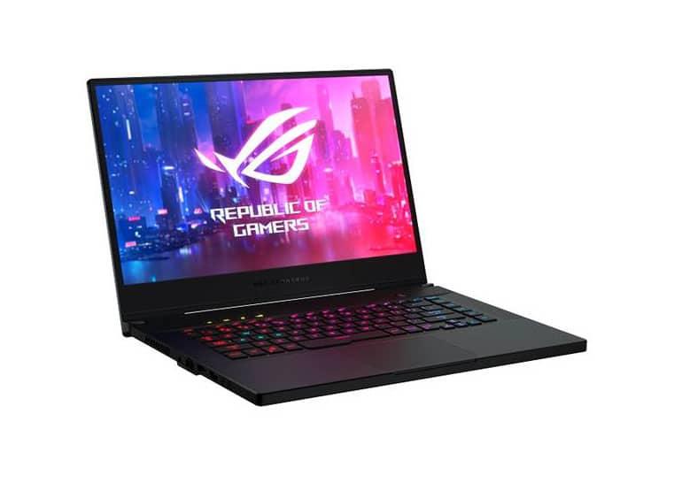 ASUS выпустила игровой ноутбук Zephyrus S GX502 с 6-ядерным