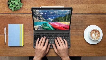 Logitech анонсировала беспроводную клавиатуру Slim Folio Pro для планшетов iPad Pro