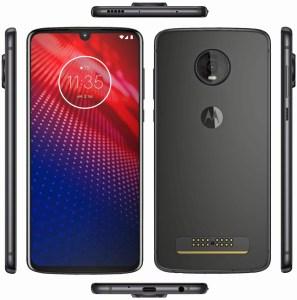 Качественное изображение Motorola Moto Z4 демонстрирует смартфон со всех сторон