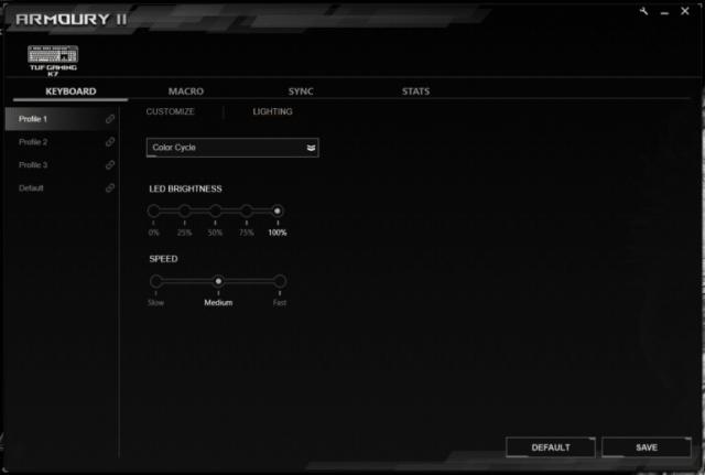 Обзор механической клавиатуры ASUS TUF Gaming K7 - ITC.ua
