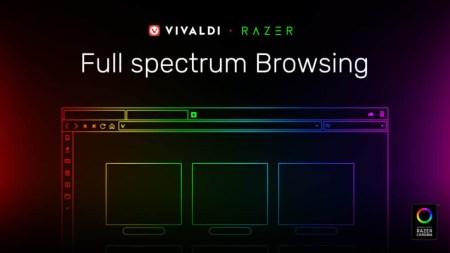 Браузер Vivaldi 2.5 получил первую в своём роде интеграцию с подсветкой Razer Chroma