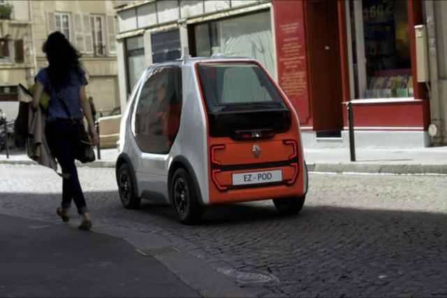 """Renault EZ-POD - компактный автономный электромобиль для доставки пассажиров и грузов в пределах """"последней мили"""" - ITC.ua"""