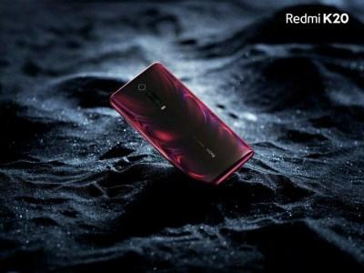 Флагманский смартфон Redmi K20 переливается красками градиентных панелей на официальных изображениях