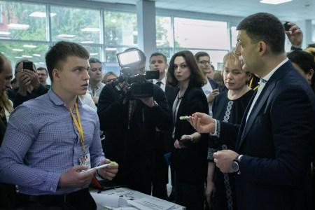 Проект CamTouch, трансформирующий монитор или проектор в интерактивную доску, стал победителем украинского «Фестиваля инноваций»
