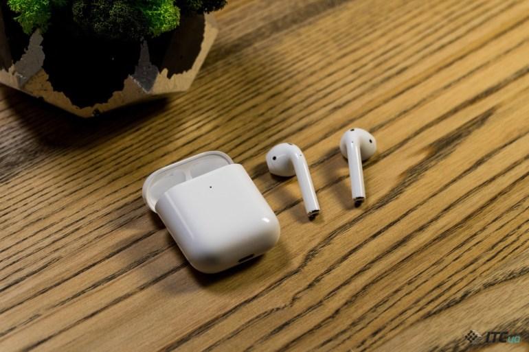 Звук Apple AirPods 2