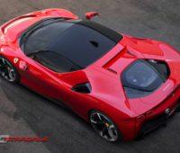 Ferrari SF90 Stradale - первый подключаемый гибрид бренда с ДВС и тремя электродвигателями суммарной мощностью 1000 л.с. - ITC.ua