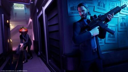 Джон Уик появился в Fortnite в рамках специального режима «Награда за голову»