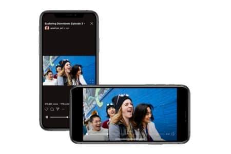 Instagram внедрил поддержку горизонтальных роликов на платформе IGTV - ITC.ua