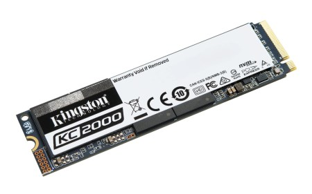 Kingston Digital представила SSD-накопитель нового поколения KC 2000 (NVMe PCIe)