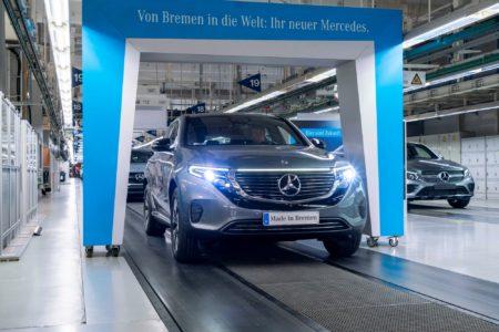 В Германии стартовало серийное производство электрокроссовера Mercedes-Benz EQC с запасом хода 450 км и ценником от €71 тыс. - ITC.ua