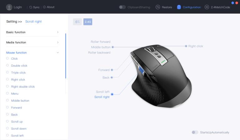 Rapoo MT750S - обзор беспроводной мыши