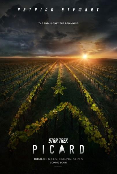 """""""Конец - это только начало"""": Первый тизер-трейлер нового сериала """"Star Trek: Picard"""" / """"Звездный путь: Пикар"""" с Патриком Стюартом в главной роли"""