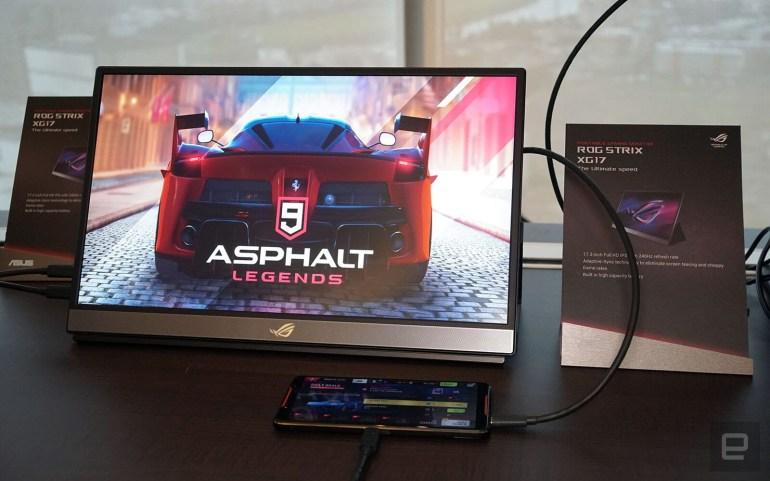 ASUS показала передовые панели дисплеев для ноутбуков серии ROG