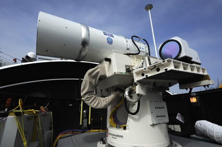 В 2021 году США начнёт оснащать корабли военно-морских сил лазерным оружием