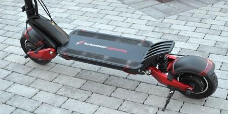 Turbowheel Lightning — «электросамокат для самоубийц»