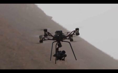 DJI Storm — октокоптер, предназначенный для аэросъемки с использованием кинокамер