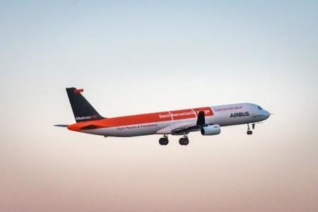 Airbus провел летные испытания уменьшенной копии самолета с подвижными законцовками крыльев AlbatrossOne