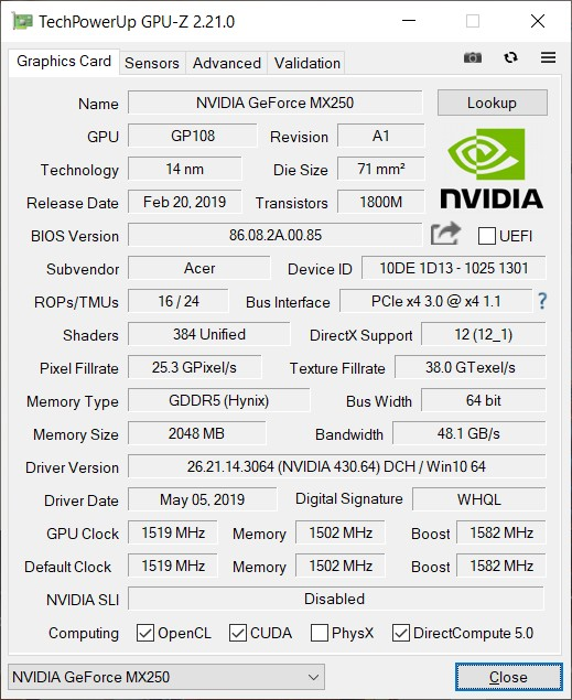 Обзор ноутбука Acer Swift 3 SF314-56G