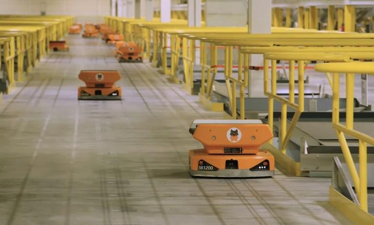 Amazon показала новых роботов для автоматизации работы на своих складах