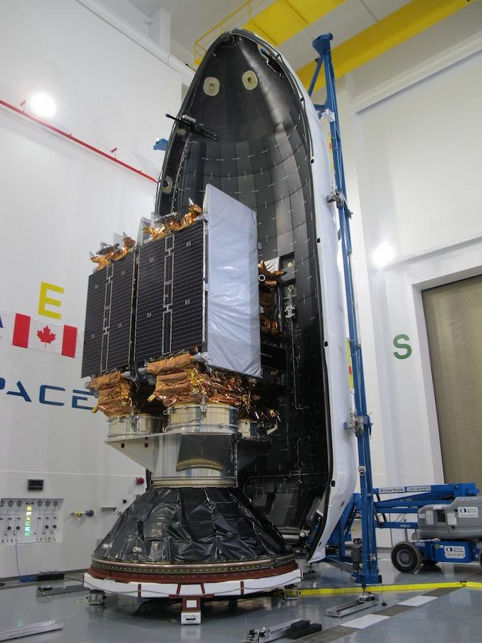 Ракета SpaceX Falcon 9 вывела на орбиту трио спутников дистанционного зондирования Земли RADARSAT общей стоимостью около $1 млрд