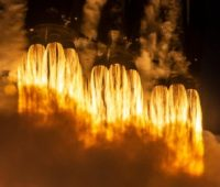 Прямая трансляция запуска сверхтяжелой ракеты Falcon Heavy (STP-2). SpaceX впервые повторно использует боковые ускорители первой ступени - ITC.ua