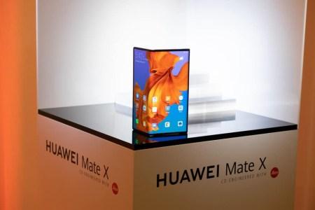 Старт продаж складного смартфона Huawei Mate X перенесён на сентябрь