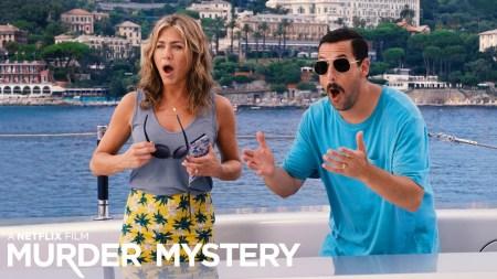 Комедия Murder Mystery / «Загадочное убийство» с Адамом Сэндлером и Дженнифер Энистон побила рекорд Netflix по просмотрам в первый уикэнд проката