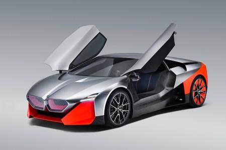 BMW Vision M NEXT — гибридный суперкар с мощностью 600 л.с., максимальной скоростью 300 км/ч и разгоном до «сотни» за 3 секунды