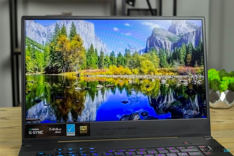 ROG Zephyrus S GX502GW — обзор игрового ноутбука ASUS