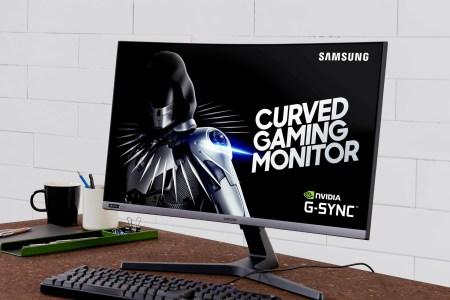 Samsung анонсировала изогнутый игровой монитор CRG5 с поддержкой G-Sync по цене $400