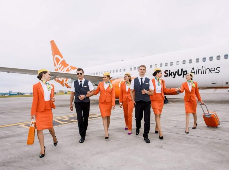 Украинский лоукостер SkyUp запустил два внутренних авиарейса в Одессу из Киева и Харькова с билетами от 500 грн