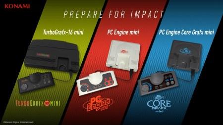 Konami анонсировала три версии ретро-консоли PC Engine Mini для Японии, США и Европы [видео]