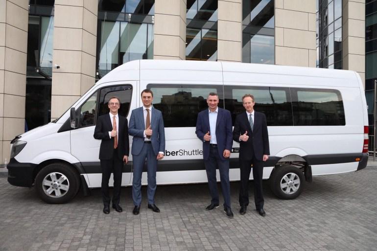 UberShuttle запустил новый маршрут Соломенка - Бессарабка и поделился статистикой первого месяца работы