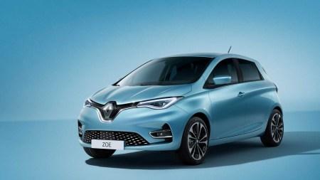 Представлено новое поколение популярного электромобиля Renault Zoe (Zoe Z.E. 50) с более мощным двигателем и емкой батареей